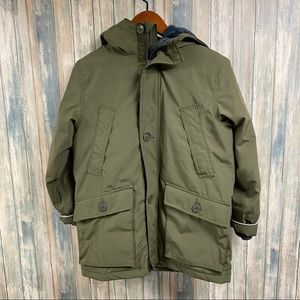 GAP Kids Boys Coat sz Large Green